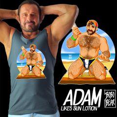 Adam Likes Sun Lotion by Bobo Bear
