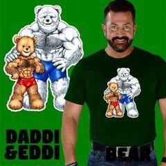 Daddi W/ Eddi Bear Shirt