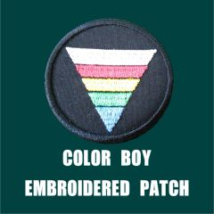 Color Kid Embroidered Patch