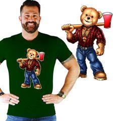 Lumber Jack Eddi Bear Shirt
