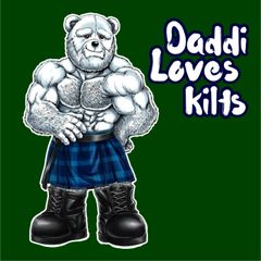 Daddi Loves Kilts