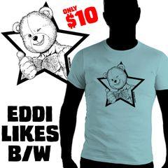 EDDI LIKES B/W