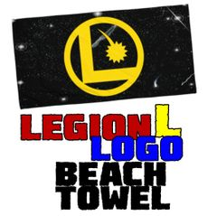 LEGION L LOGO Beach Towel