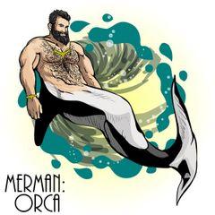 MERMAN - ORCA