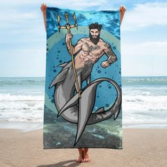 Merman: Fenix Beach Towel