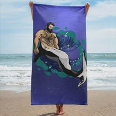 Merman: ORCA Beach Towel