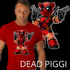 DEAD POOL PIGGI BEAR