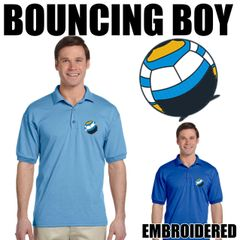 BOUNCING BOY Embroidered Shirts