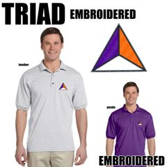 TRIAD Embroidered Shirts
