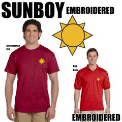 SUNBOY Embroidered Shirts
