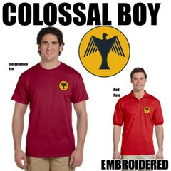 COLOSSAL BOY Embroidered Shirts