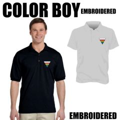 COLOR BOY Embroidered shirts