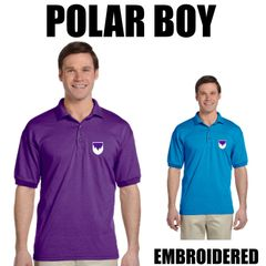 POLAR BOY Embroidered shirts