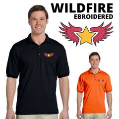 Wildfire Embroidered shirts