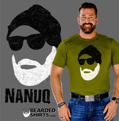 NANUQ Bearded SUEDE t-Shirt