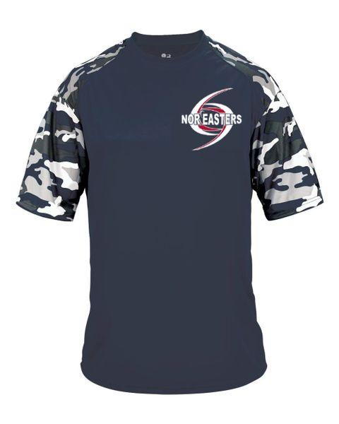 Camo Sleeve Workout T-shirt