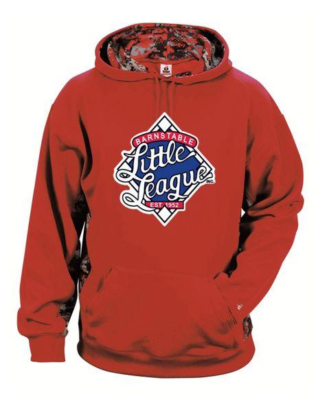 Barnstable Little League Digi-camo Hoodie