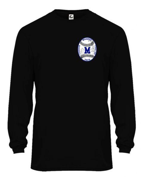 Mashpee Youth Baseball Long Sleeve Tee