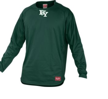 DY BASEBALL MAJESTIC PULLOVER