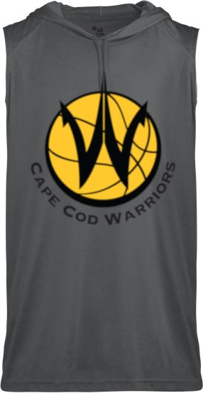 CAPE COD WARRIORS SLEEVELESS HOODIE