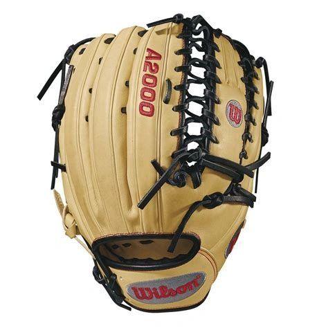 """Wilson A2000 12.75"""" Baseball Glove: WTA20RB18OT6 DISCONTINUED RIGHT HAND THROW"""
