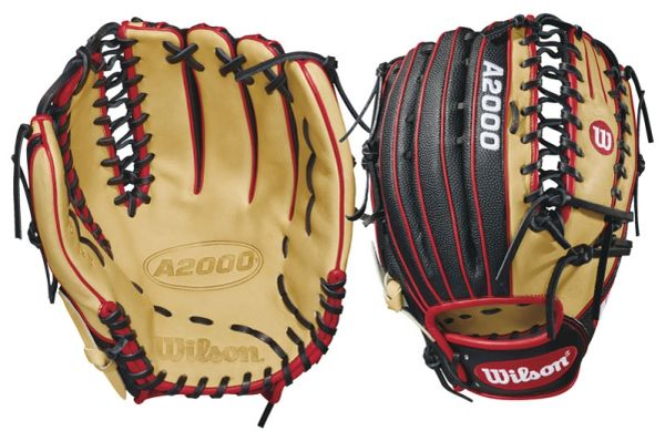 "Wilson A2000 SuperSkin 12.75"" Outfield Glove RH THROW"