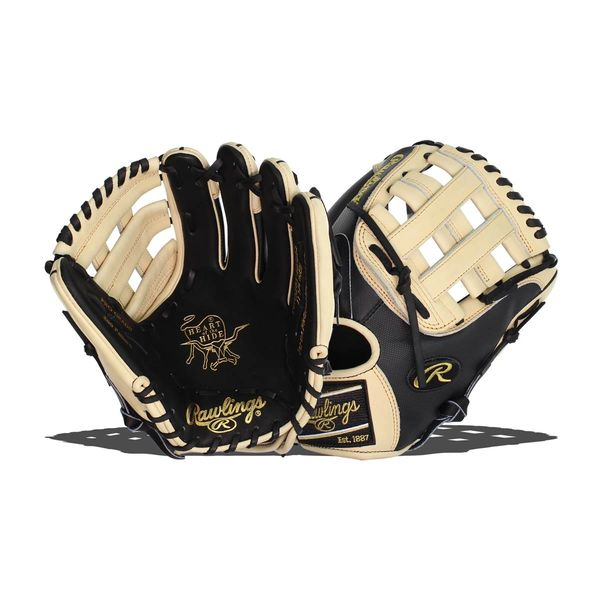 "Rawlings Heart of the Hide 11.75"" Baseball Glove: PRO205-6BCSS RIGHT HAND THROW"