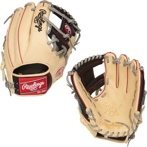 "Rawlings Heart of the Hide Baseball Glove 11.5"" PRO204-2CBG RH THROW"