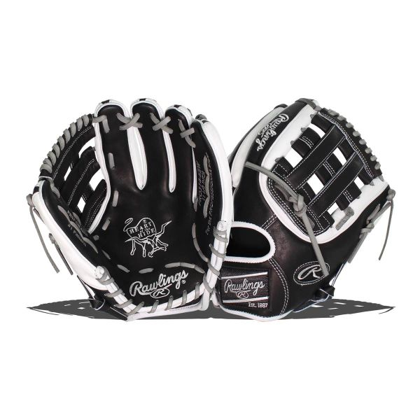 "Rawlings Heart of the Hide 11.5"" Baseball Glove: PRO314-6BW RIGHT HAND THROW"