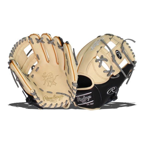 "Rawlings Heart of the Hide 11.5"" Baseball Glove: PRONP4-2CBT RH THROW"