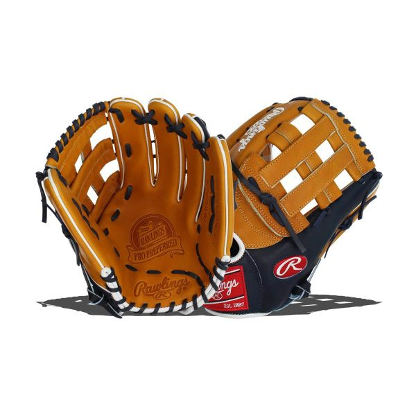"Rawlings Pro Preferred 12.75"" Baseball Glove: PROS3039-6TN"