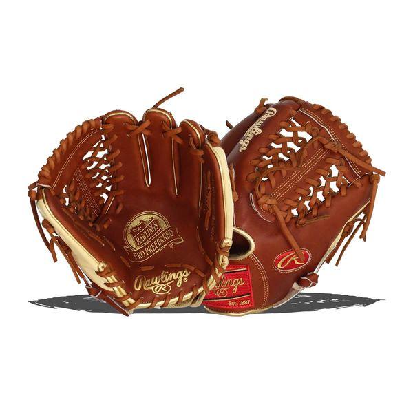 """Rawlings Pro Preferred 11.5"""" Baseball Glove: PROS204-4BR RH THROW"""