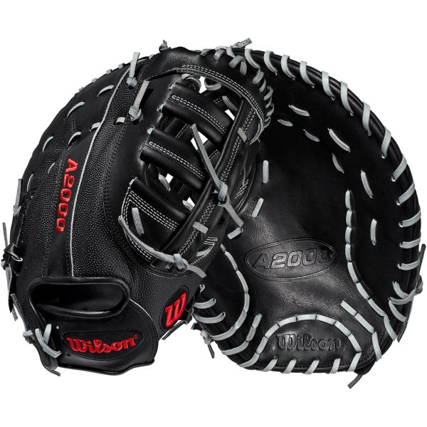 "Wilson A2000 Baseball First Base Mitt 12.25"" WTA20RB202820SS RH THROW"