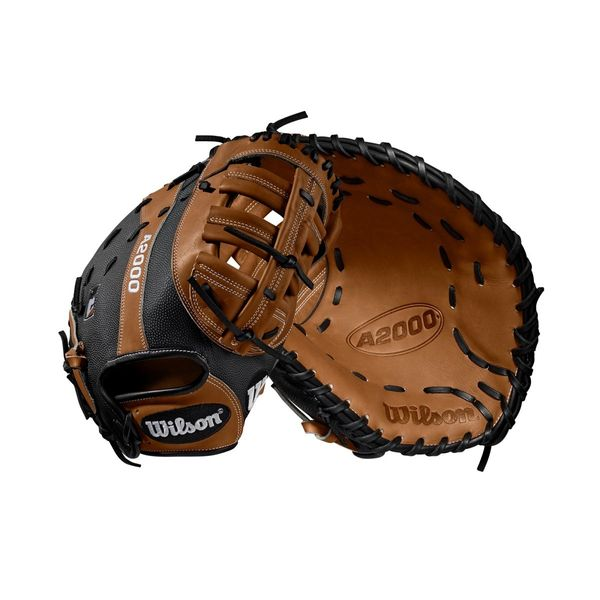 "2019 A2000 1614 SuperSkin 12.5"" First Base Baseball Mitt LH THROW"