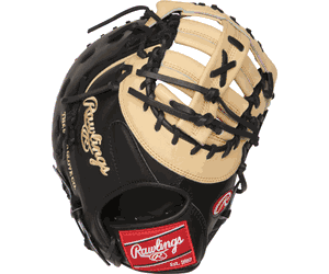 13 Inch Rawlings Heart of the Hide PRODCTCB Adult Firstbase Baseball Mitt RH THROW