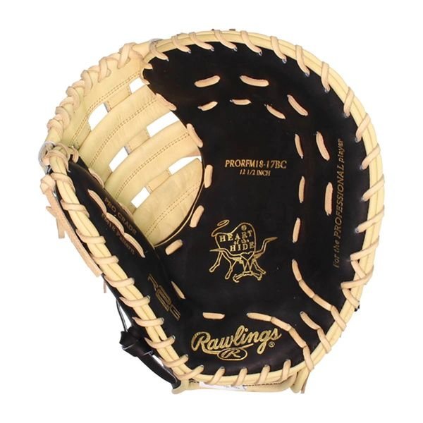 "Rawlings Heart of the Hide R2G RFM 12.5"" First Base Glove (PRORFM18-17BC)"