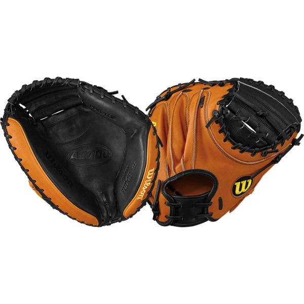 "Wilson A2000 Baseball Catcher's Mitt 32.5"" WTA20RB17PUDGE"