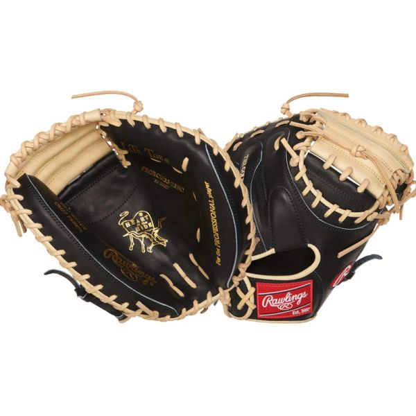 "Rawlings Heart of the Hide Baseball Catcher's Mitt 33"" PRORCM33-23BC"