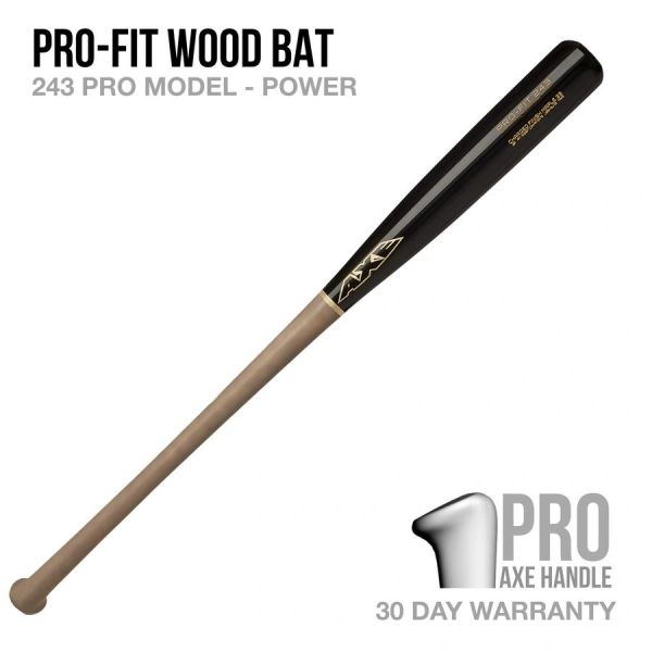 Pro-Fit 243 Model Wood Bat - Pro Axe Handle