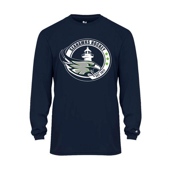 Cape Cod Seahawks Performance Long Sleeve T-Shirt