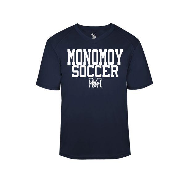 Monomoy Soccer V-neck T-shirt