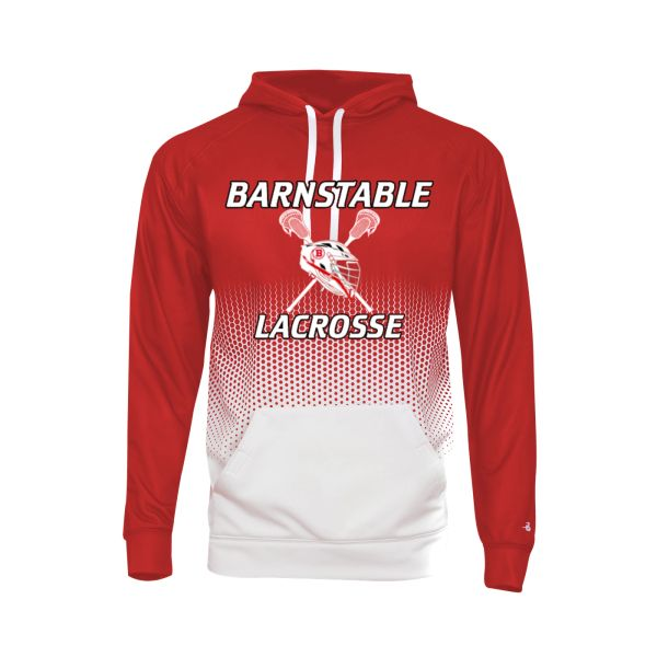 BARNSTABLE YOUTH LACROSSE HEX HOODIE