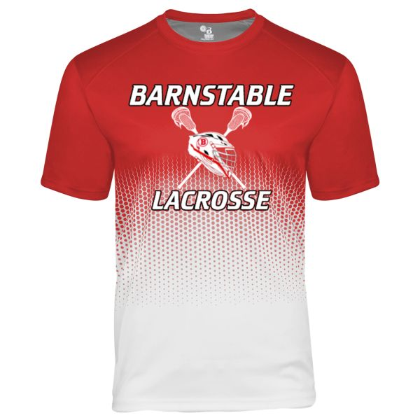BARNSTABLE YOUTH LACROSSE HEX T-SHIRT