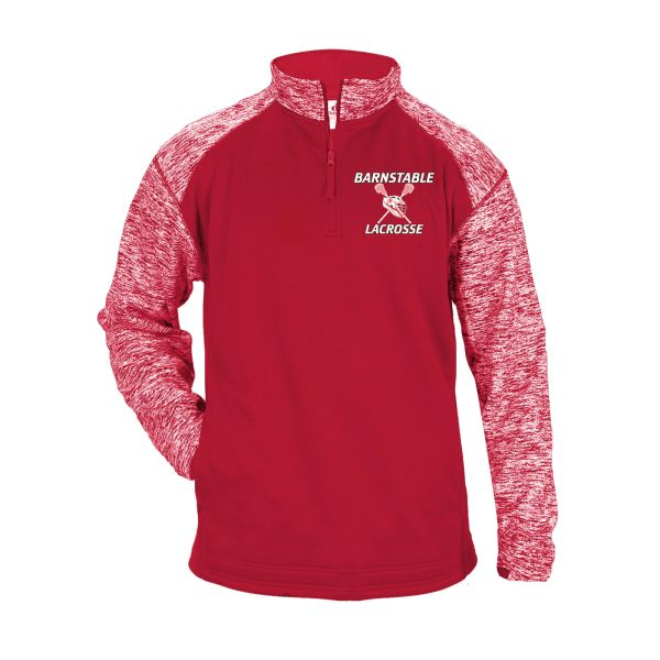 BARNSTABLE YOUTH LACROSSE BLENDED 1/4 ZIP