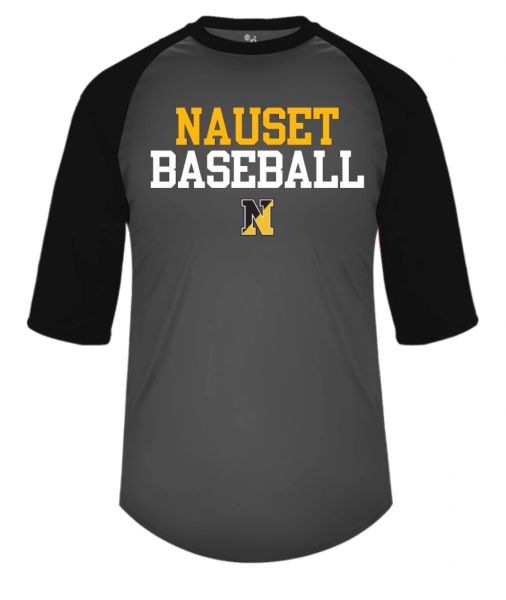 NAUSET BASEBALL 3/4 SLEEVE T-SHIRT