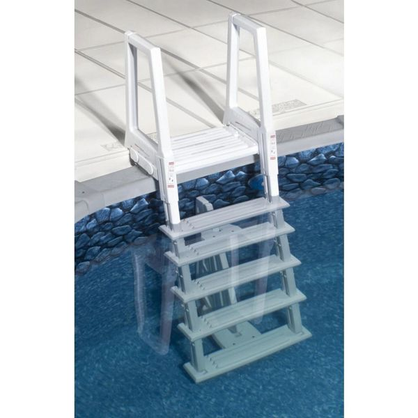Miraculous Bluewave Steps Ladders Fencing Ne1175 Deluxe Heavy Duty In Pool Ladder Creativecarmelina Interior Chair Design Creativecarmelinacom