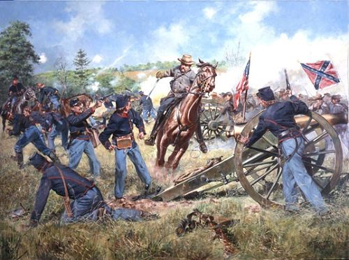 Sword of Virginia - Battle of Second Manassas By Don Troiani