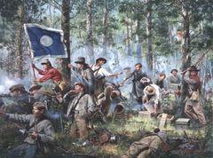 Cleburne At Chickamauga By Don Troiani