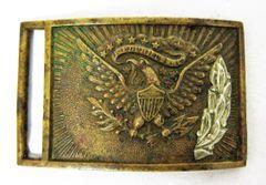 Non-Commissioned Civil War Belt-Plate 1850 / SOLD