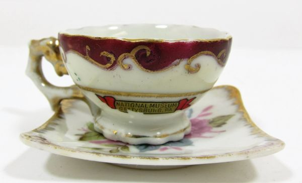 Gettysburg Souvenir National Museum Tea Cup